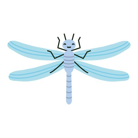 cute dragon fly character