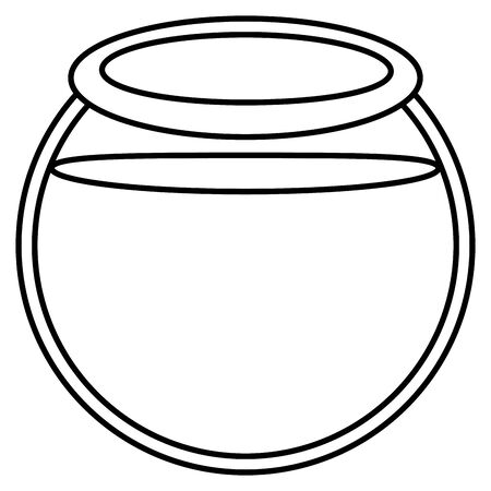 aquarium bowl glass icon