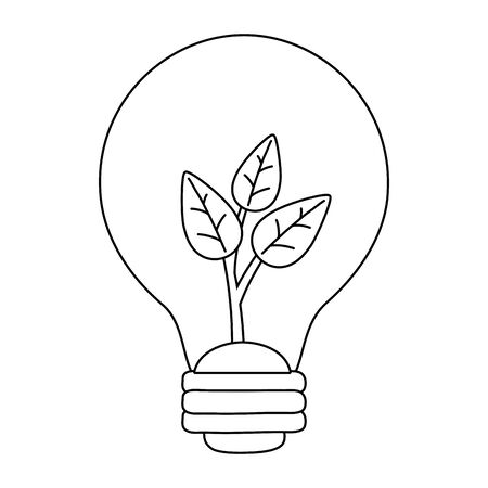 Isolated light bulb and save energy design