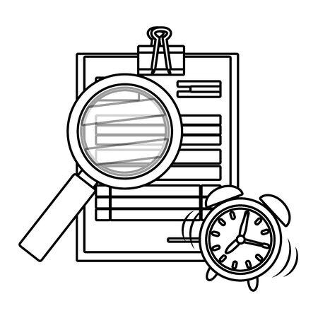 personal finance cartoon Standard-Bild - 129796477