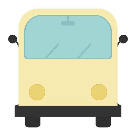 hippie van transport vehicle icon vector illustration design