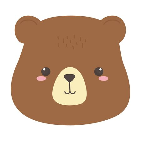 Bear cartoon vector design vector illustration