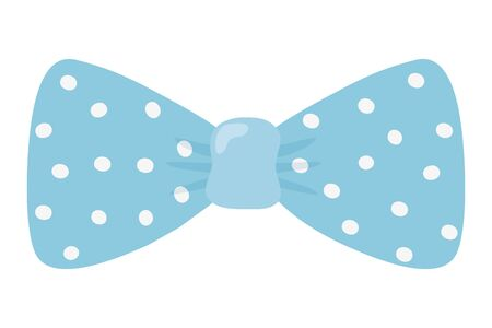 Isolated pointed bowtie design vector illustration