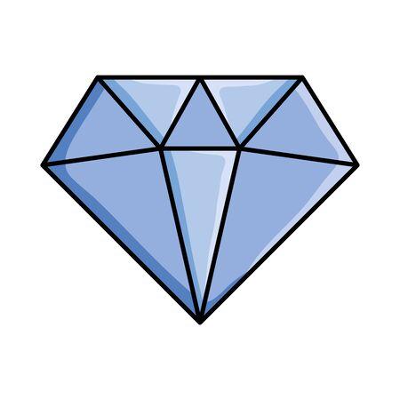 diamond rock jewerly pop art style