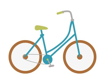 Isolated vintage bike design vector illustration