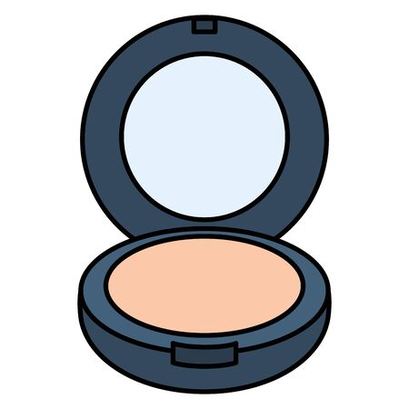 blush make up drawing icon Ilustração