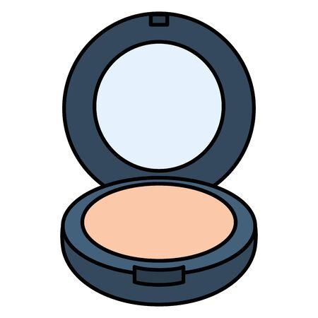 blush make up drawing icon Иллюстрация