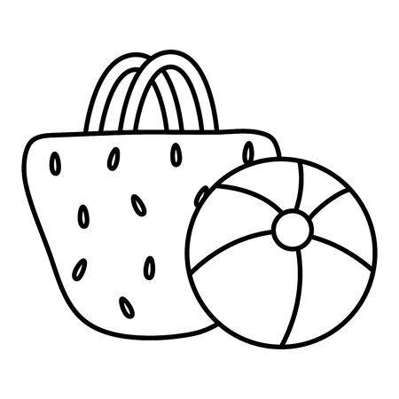 handbag female with balloon plastic toy 写真素材 - 129817192