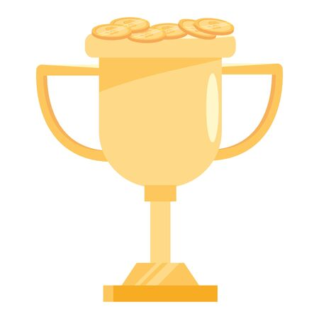 Isolated competition trophy design vector illustration Иллюстрация