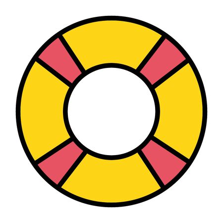 float lifeguard summer accessory icon
