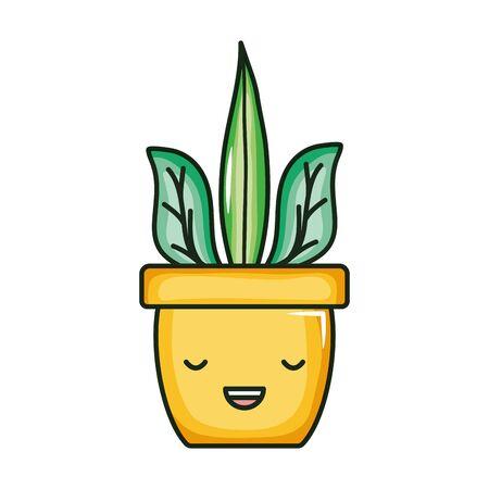 Zimmerpflanze Comicfigur