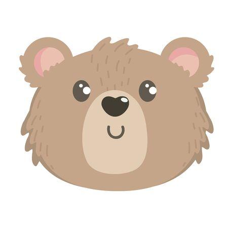 Teddy bear design, Childhood play fun kid cartoon game and object theme Vector illustration