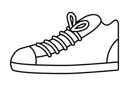Shoe design, Cloth fashion style wear shop retail and store theme Vector illustration 일러스트