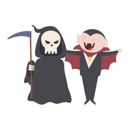 trick or treat - happy halloween 写真素材 - 130714357
