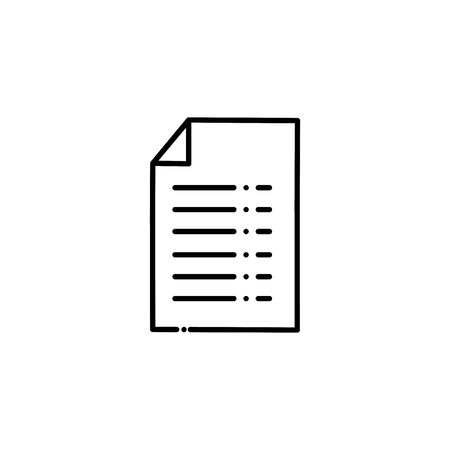 Isolated document vector design