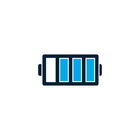 Isolated battery icon vector design Banque d'images - 131204441