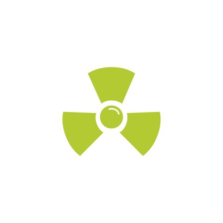 atomic symbol eco friendly fill style icon