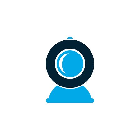 Isolated webcam icon vector design Ilustrace