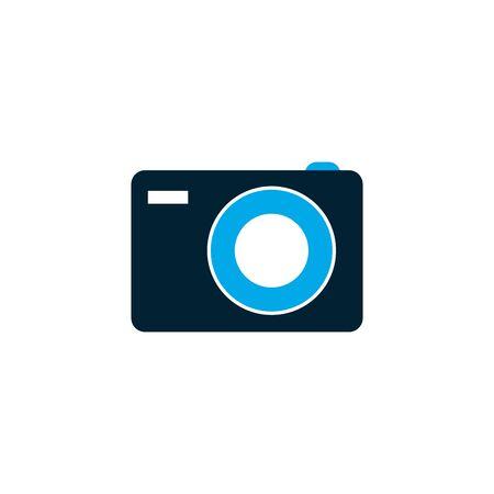 Isolated camera icon vector design
