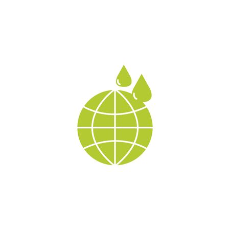 sphere planet eco friendly fill style icon