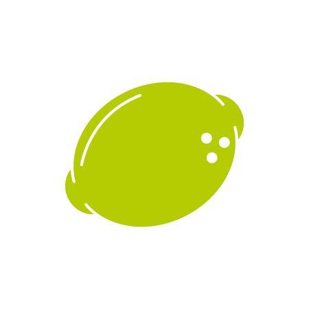 Isolated lemon fruit vector design