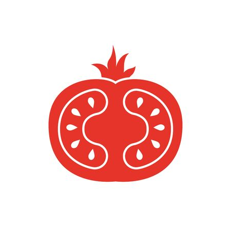 tomato design, Vegetable organic food healthy fresh natural and market theme Vector illustration