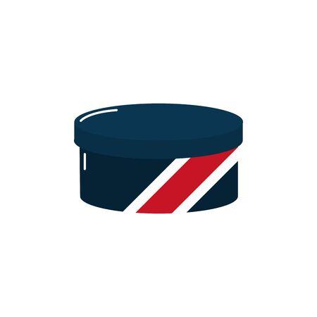 barber shop accessory icon design Ilustrace