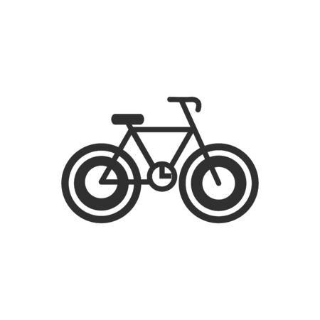 Isolated bike flat vector design