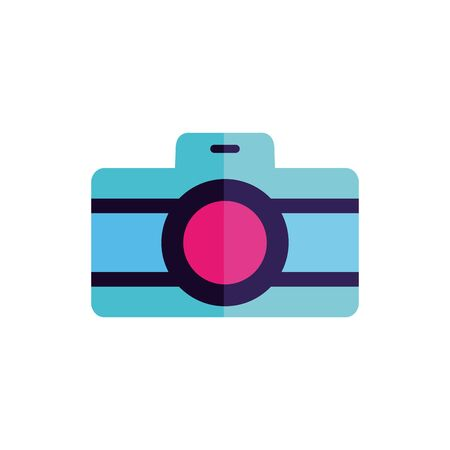 Isolated camera icon flat vector design