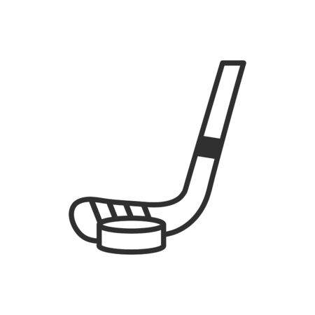Ice hockey stick design, sport hobby competition game training and tournament theme Vector illustration