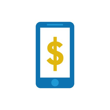 Smartphone design, Money finance commerce market payment invest and buy theme Vector illustration