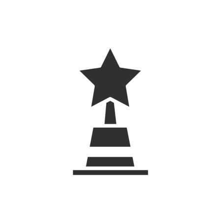 Trophy design, Winner competition success sport achievement leadership and challenge theme Vector illustration