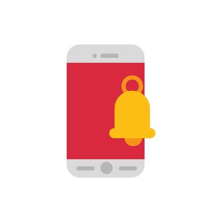 Smartphone icon design, Digital technology communication social media internet web and cellular theme Vector illustration