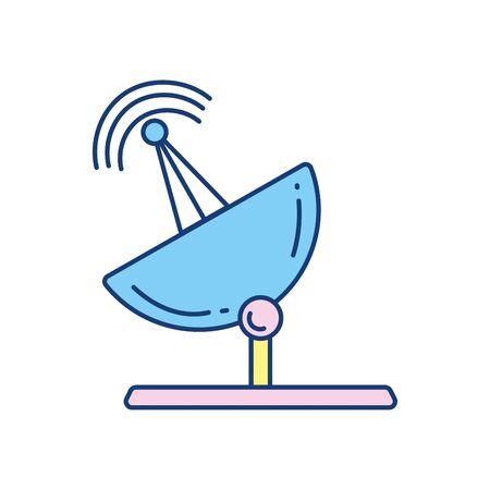 antenna signal travel aviation transport airport Illustration