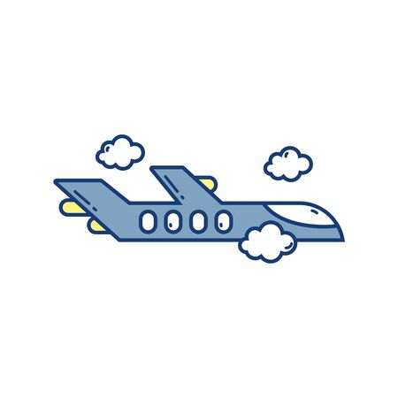 flying airplane travel aviation transport airport