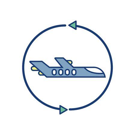 plane around travel aviation transport airport Çizim
