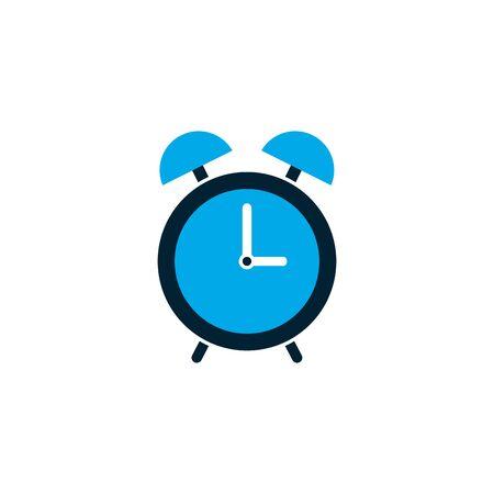 Clock design, Time tool instrument second deadline measure and measure theme Vector illustration