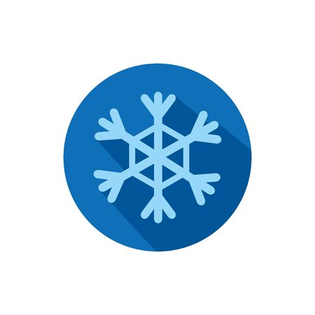 Isolated snowflake icon block vector design