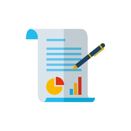 Workflow icon design, Infographic data information business analytics and visual presentation theme Vector illustration