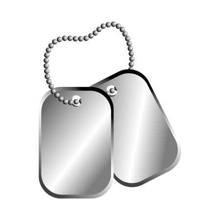 dog tag plate