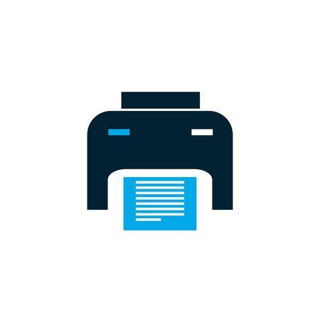Isolated printer icon vector design