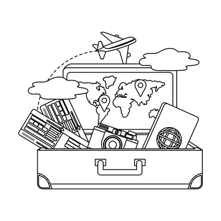 Suitcase and travel design