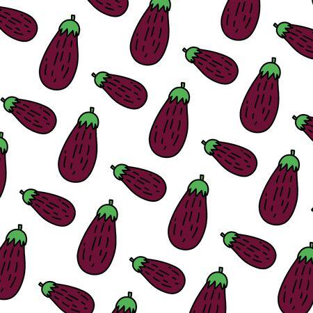 color healthy eggplant fresh vegetable background Standard-Bild - 133060382