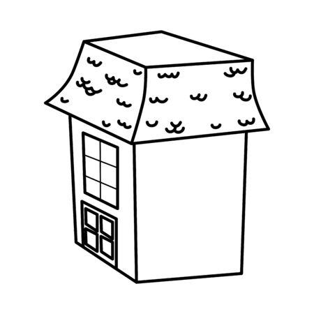 trick or treat - happy halloween line design Illusztráció