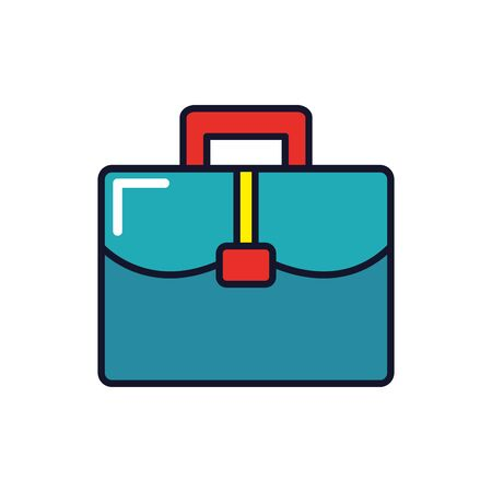 Professional suitcase design, Work occupation job corporate employee and service theme Vector illustration 일러스트