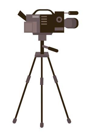 Isolated Videocamera design 版權商用圖片 - 133109650