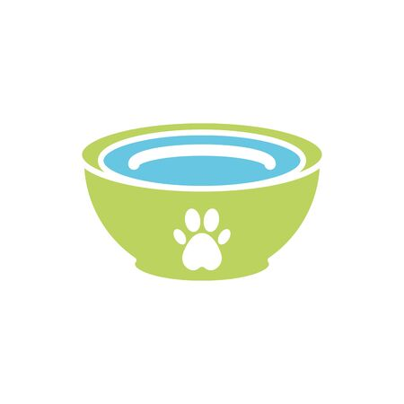 Isolated pet food icon flat vector design