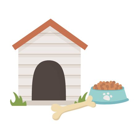 House for mascot design vector illustrator  イラスト・ベクター素材