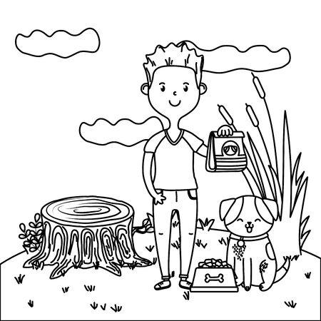 childhood happy child cartoon Standard-Bild - 133362688