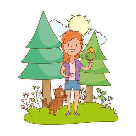childhood happy child cartoon